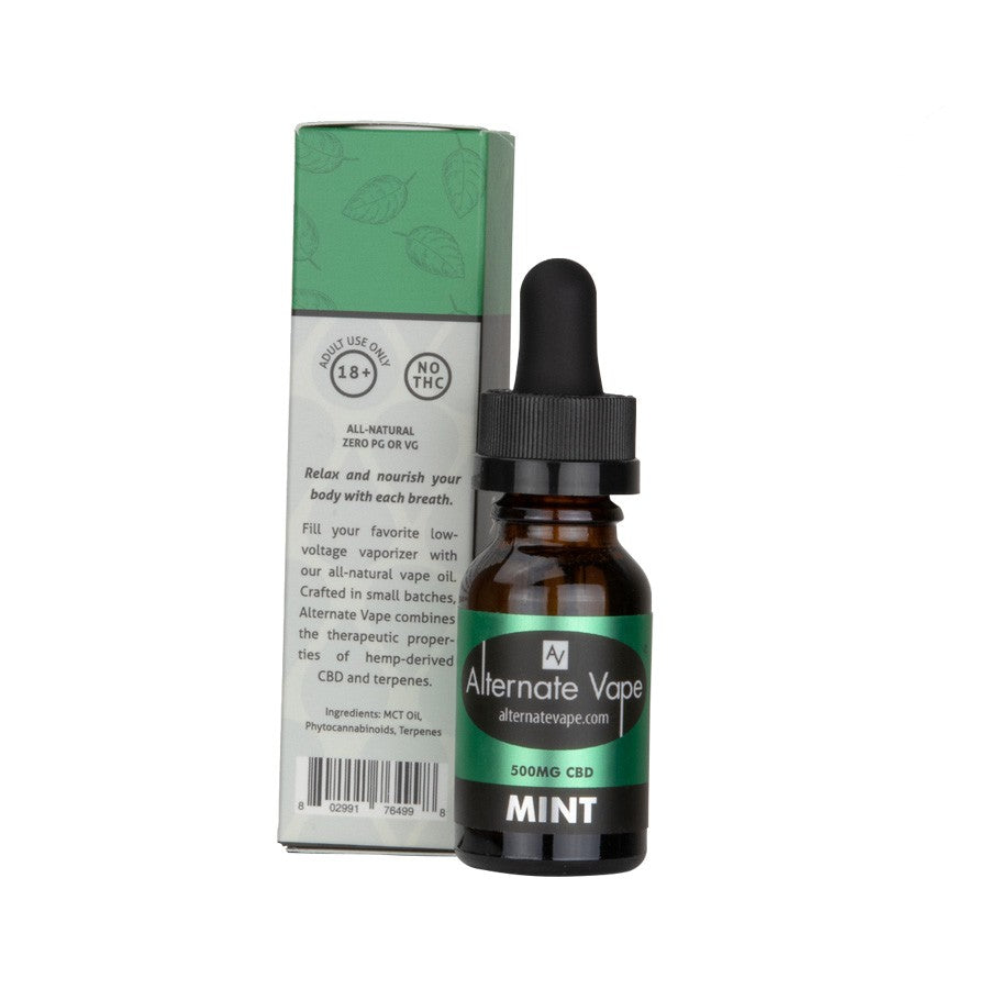 CBD E-LIQUID 15ML (500MG CBD) | ALTERNATE VAPE