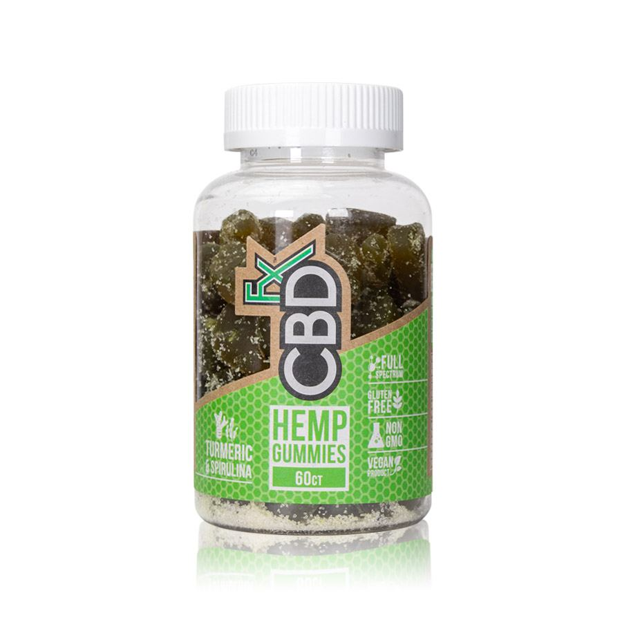 CBDfx – Gummy Bears 60 Count (5mg CBD each)