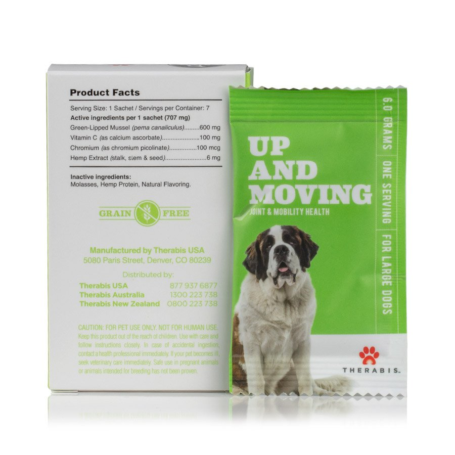 Therabis – CBD for Dogs (Up and Moving)