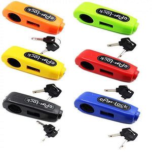 CapsLock Effective Motorcycle Grip Lock Security - Super Introductory Sale!!!