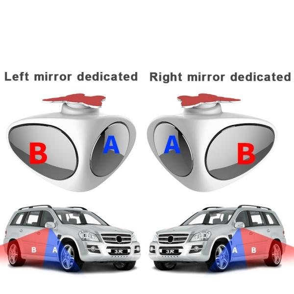 FALLONYE™2 in 1 Car Blind Spot Mirror Wide Angle Mirror