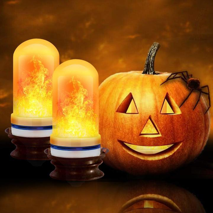 Halloween Sale 50% OFF🔥LED Gravity Effect Fire Light Bulbs