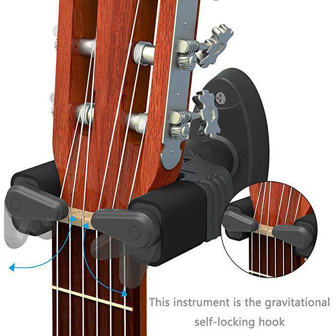 (50% OFF, Last day promotion!!!) - Gravity Auto Lock Guitar Hanger