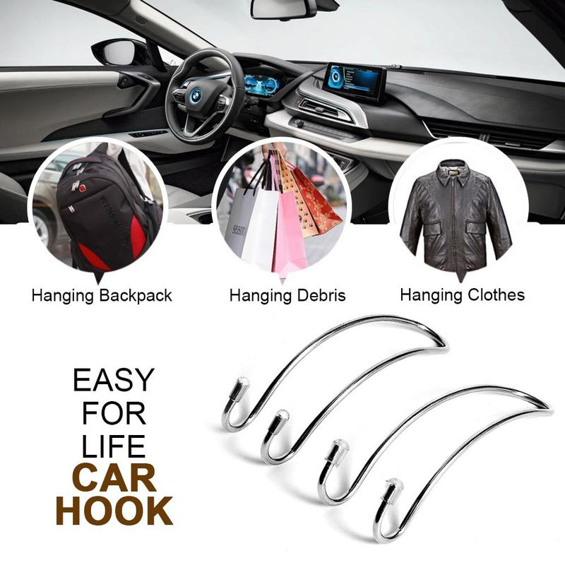 [60% OFF] Last day promotion - Metal Headrest Hook (2PCS)