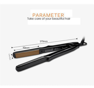 Titanium Silky Salon Smooth Hair Straightener - Designed for Salons