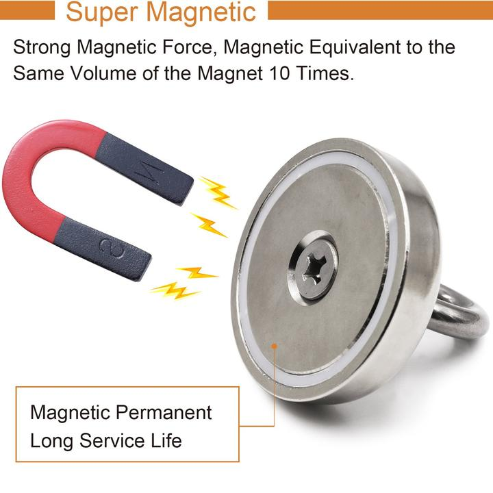 【Buy 3 free shipping】Magnetic Salvage Ring Deep Sea Fishing Magnet
