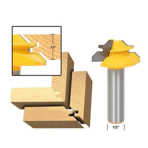 45° Lock Miter Router Bit - 70% OFF TODAY