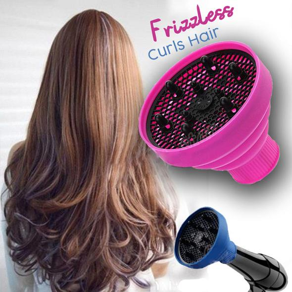 70% OFF TODAY - Frizzless Curls Hair Dryer Diffuser - Buy 2 Free Shipping