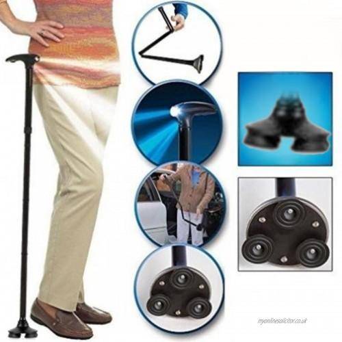 Multi-Function LED Folding Walking Stick-70% OFF ONLY TODAY!!