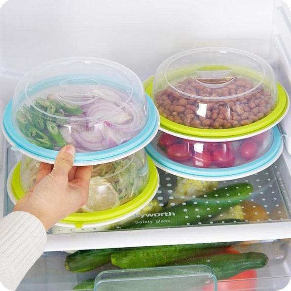 Reusable Silicone Keep Fresh Seal Lids - 19.5cm x 4.5cm