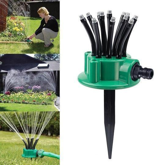 360 Degress Adjustable Lawn Sprinkler - Buy 2 get free shipping
