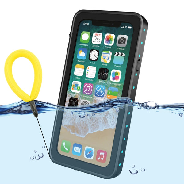 check out e9416 4dace ROIME 100% Waterproof Case for iPhone X XS 7 8 Plus Shockproof Swimming  Diving Cover for iPhoneX
