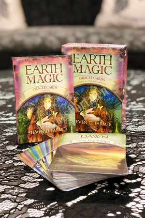 Earth Magic Oracle card/ Jordens magiska orakel kort