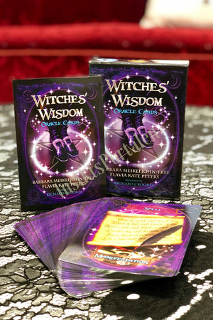 Witches Wisdom Oracle Card/ Häxornas orakel kort