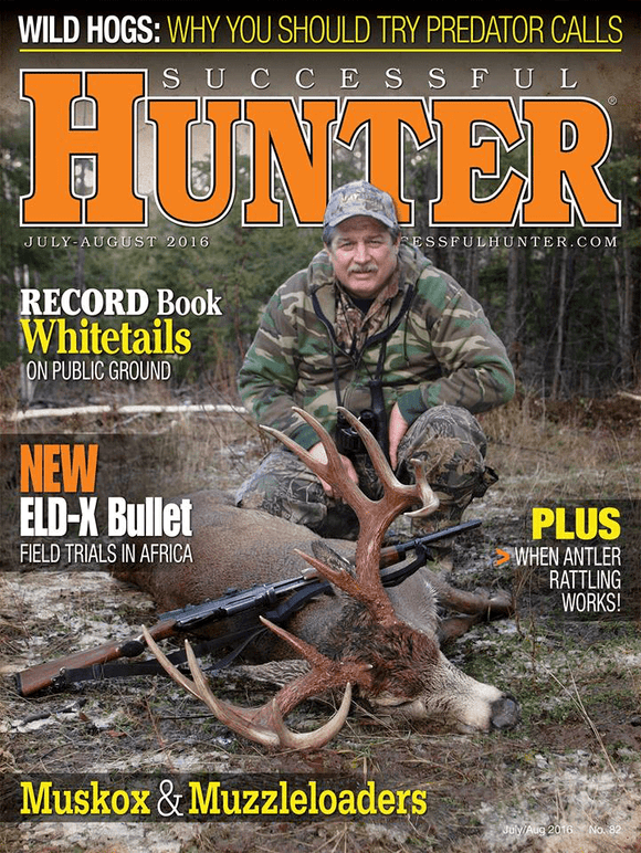 Bill Vaznis Successful Hunter