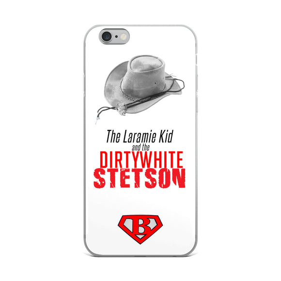 The Laramie Kid & the Dirty White Stetson iPhone Case