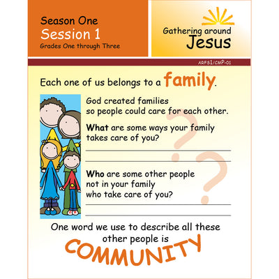 ARISE Season 1: Family Sharing Pages, Grades 1-3