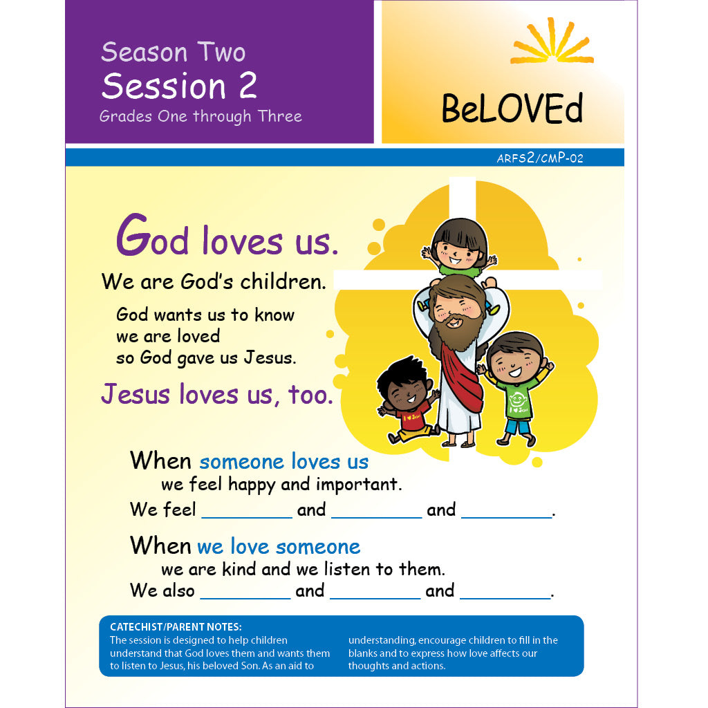 ARISE Season 2: Family Sharing Pages, Grades 1-3