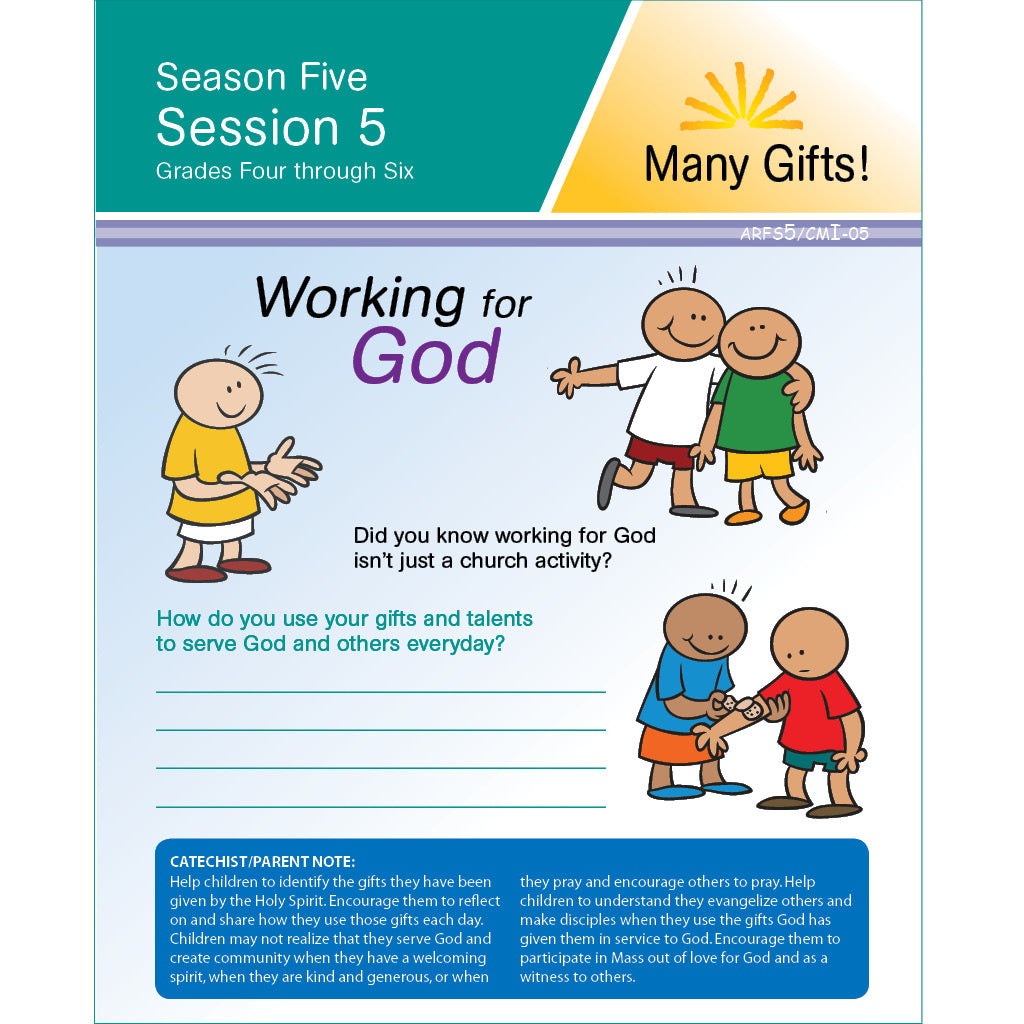 ARISE Season 5: Family Sharing Pages, Grades 4-6