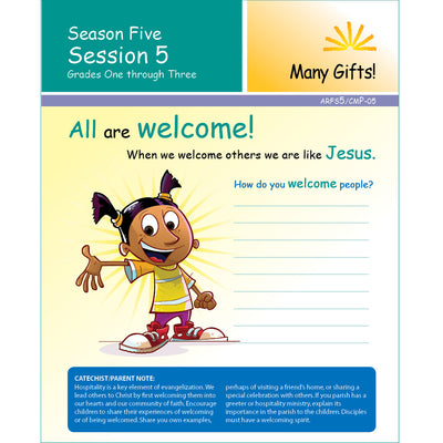 ARISE Season 5: Family Sharing Pages, Grades 1-3
