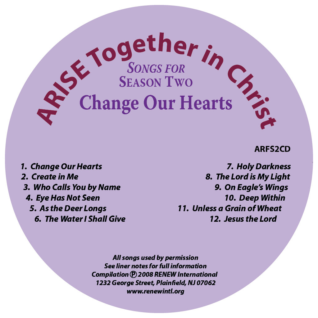 ARISE Season 2: Songs for Season Two CD