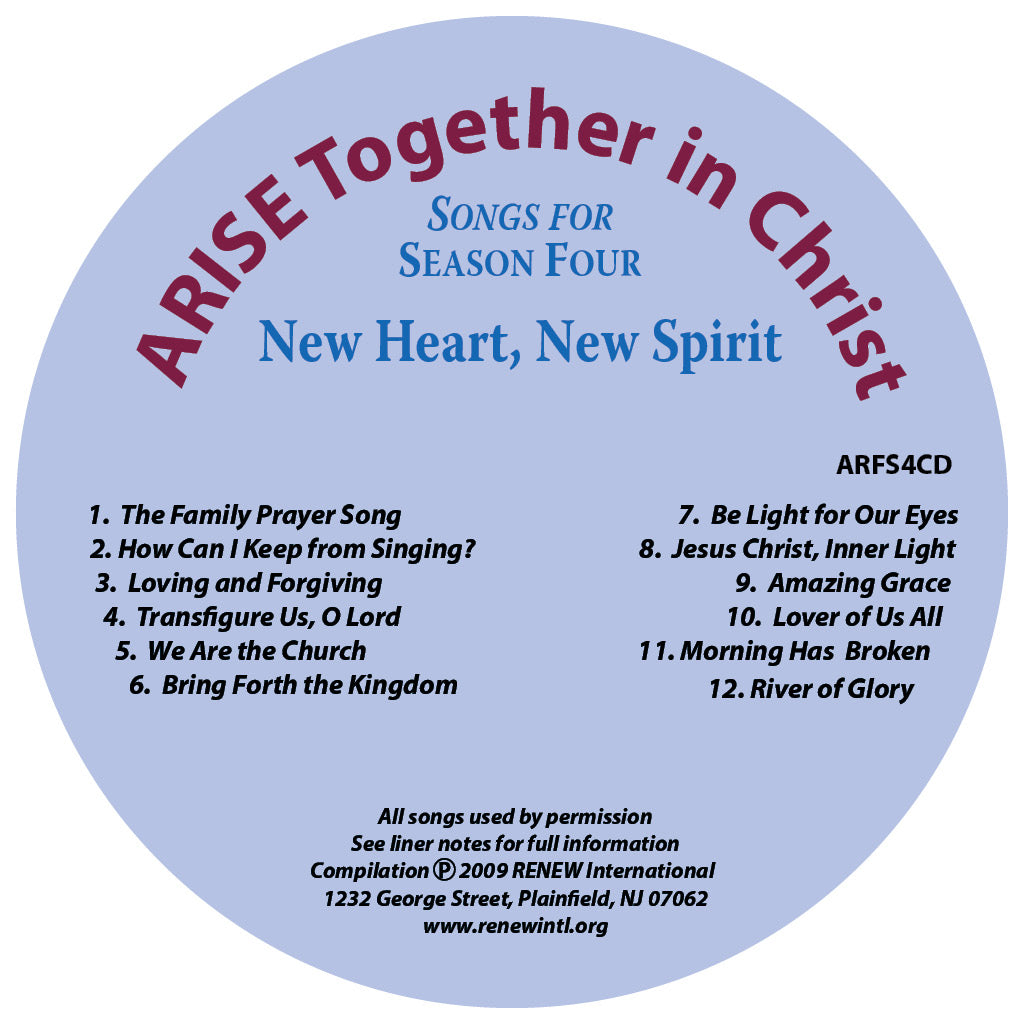 ARISE Season 4: Songs for Season Four CD