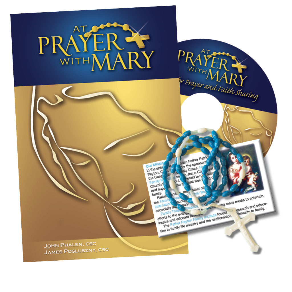 At Prayer With Mary Personal Set Book and Music CD
