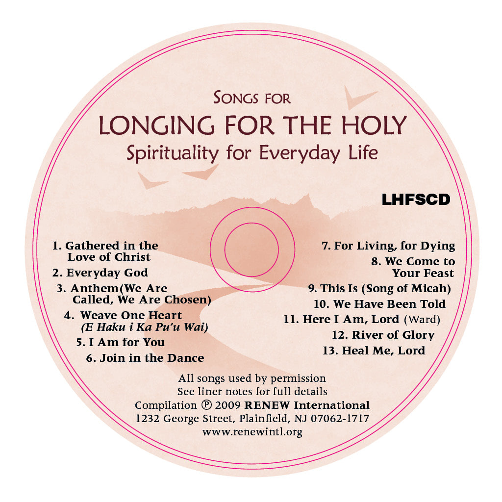 Longing for the Holy Music CD