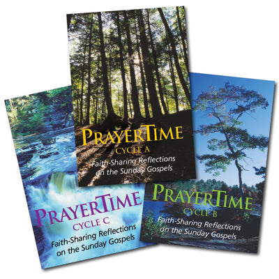 Complete set of three  PRAYERTIME, Cycles A, B, and C