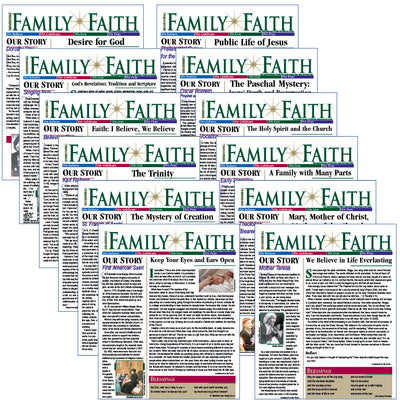 RENEWING FAMILY FAITH bulletins: BELIEVE