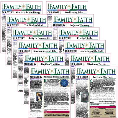RENEWING FAMILY FAITH bulletins: CELEBRATE