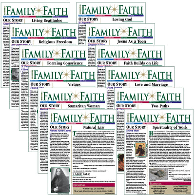 RENEWING FAMILY FAITH bulletins: LIVE