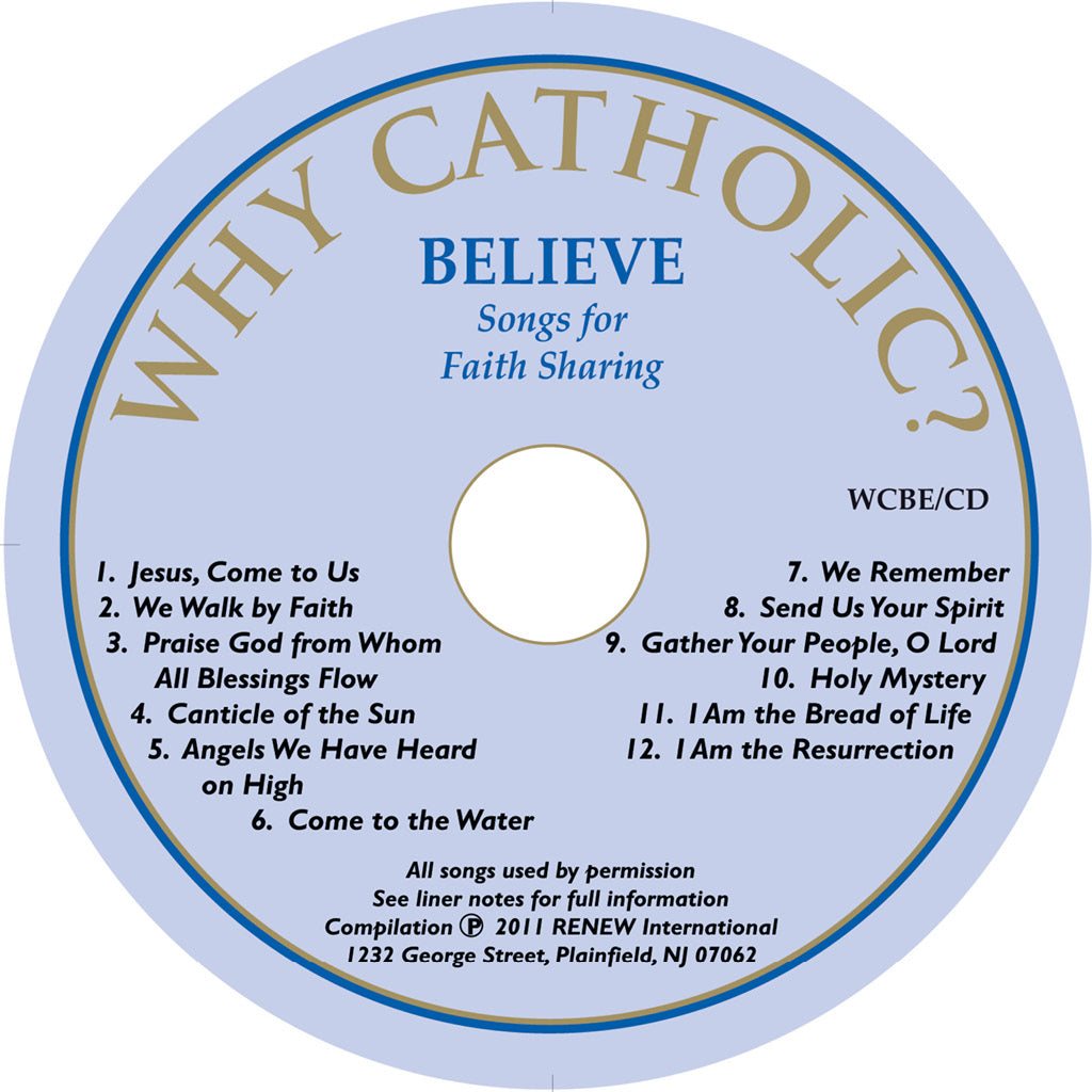 BELIEVE: Songs for Faith-Sharing (Profession of Faith)