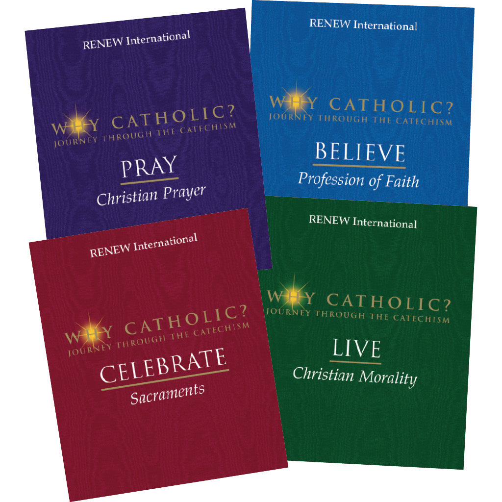 WHY CATHOLIC? Set of all four books