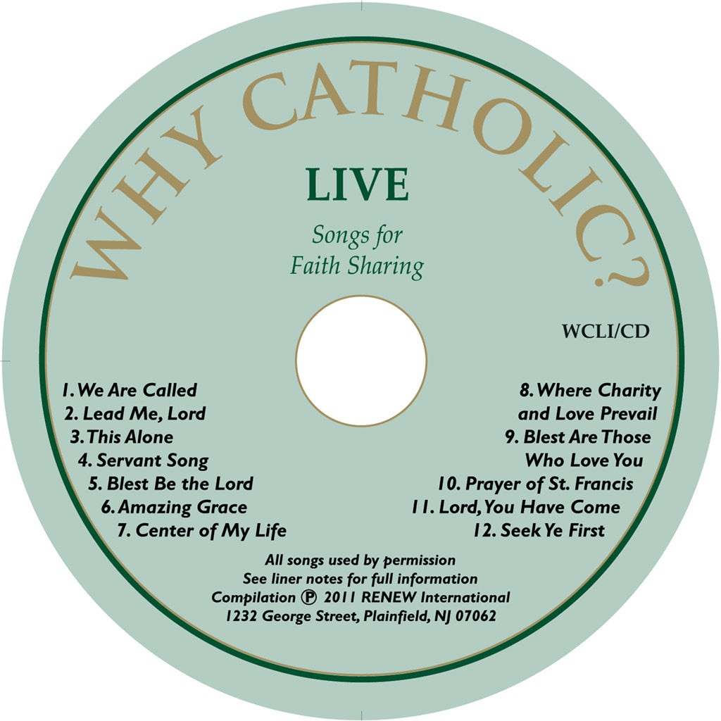LIVE: Songs for Faith Sharing (Life in Christ)