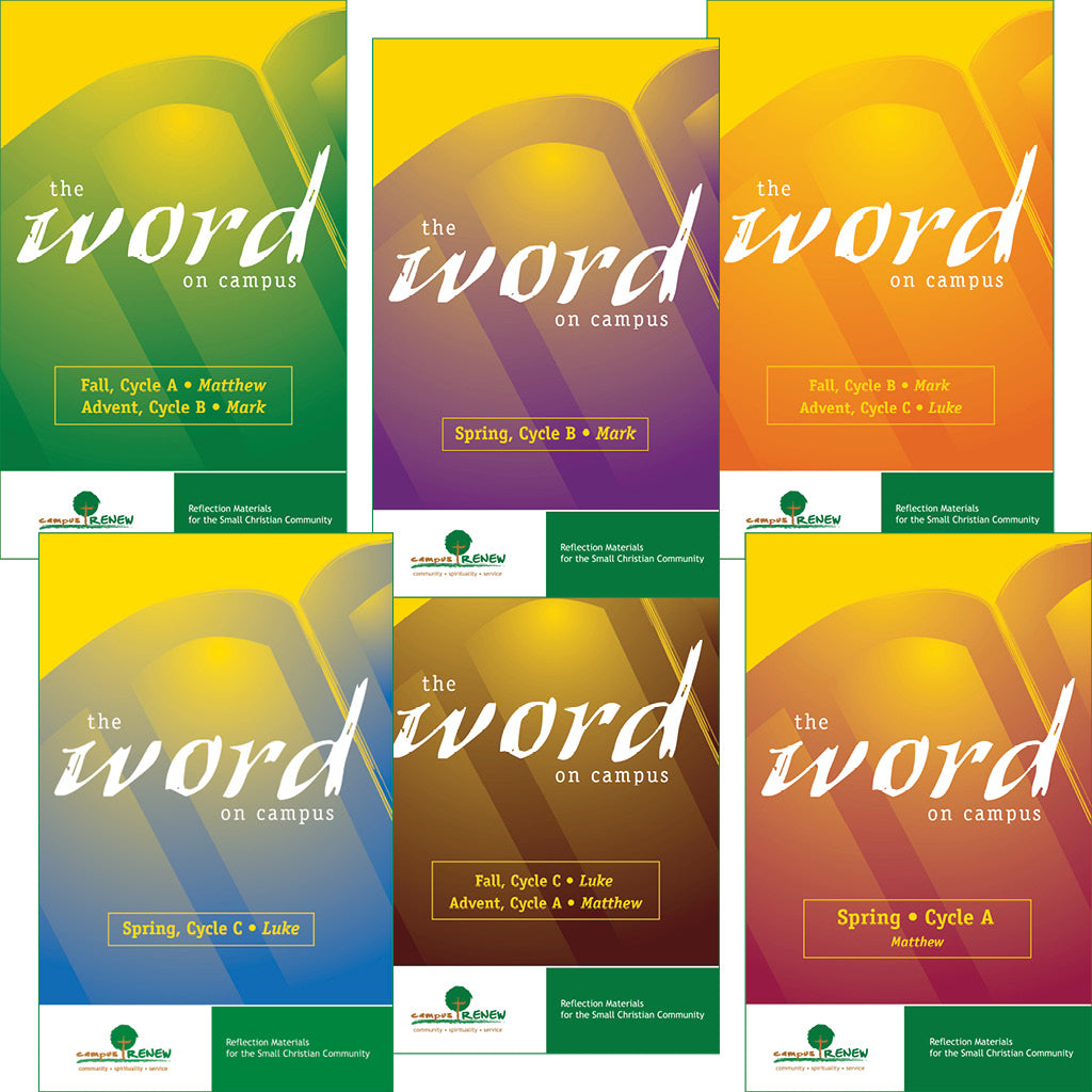 The Word on Campus Set of All Six Books
