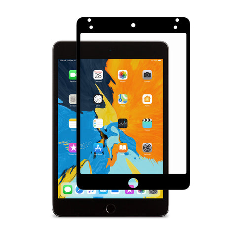 iVisor AG 100% Bubble-free and Washable Screen Protector for iPad mini - Black (Clear/Matte)