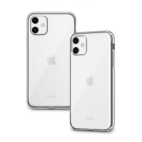 Vitros Clear Case for iPhone 11 - Jet Silver