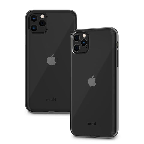 Vitros Clear Case for iPhone 11 Pro Max - Raven Black