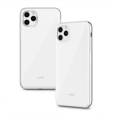 iGlaze Slim Hardshell Case for iPhone 11 Pro Max - Pearl White
