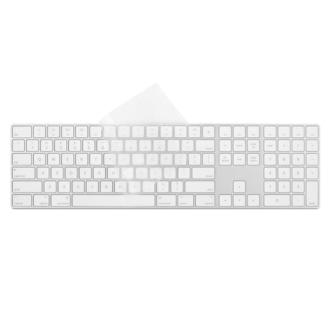 ClearGuard MK Keyboard Protector for Magic Keyboard with Numeric Keypad (US) - US Layout