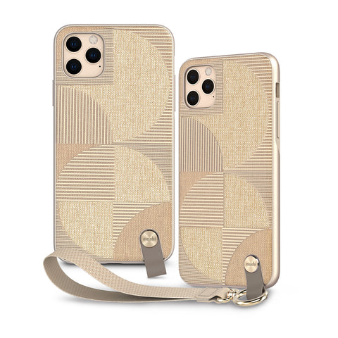 Altra Case with Detachable Wrist Strap for iPhone 11 Pro Max - Sahara Beige