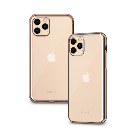 Vitros Clear Case for iPhone 11 Pro - Champagne Gold