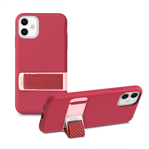 Capto Slim Case with MultiStrap for iPhone 11 - Raspberry Pink