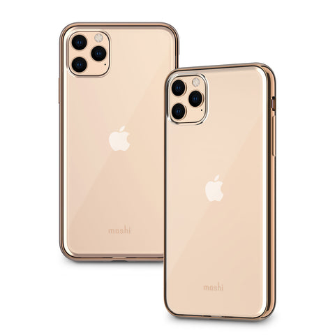 Vitros Clear Case for iPhone 11 Pro Max - Champagne Gold