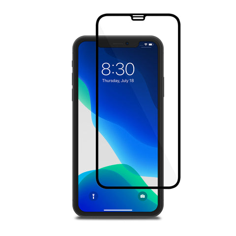 IonGlass Screen Protector for iPhone 11/XR - Black (Clear/Glossy)
