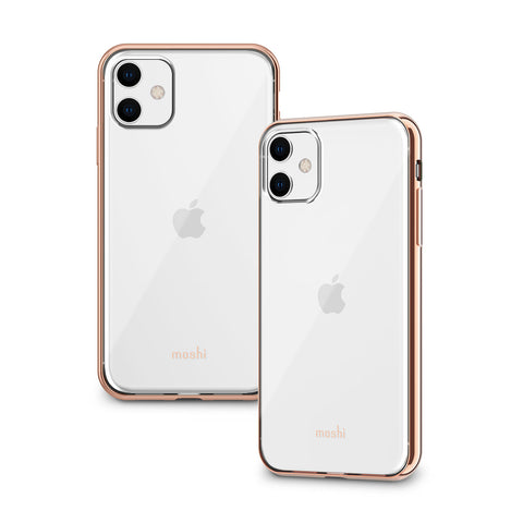 Vitros Clear Case for iPhone 11 - Champagne Gold