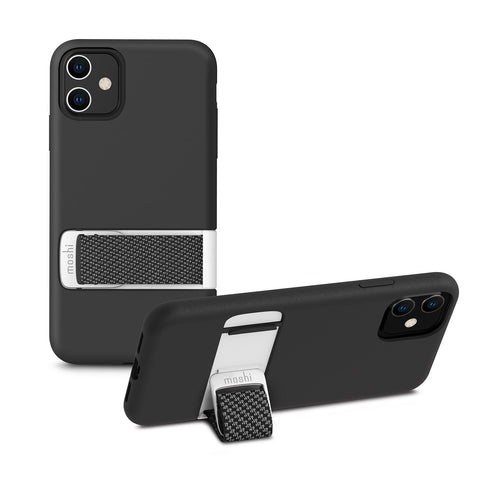 Capto Slim Case with MultiStrap for iPhone 11 - Mulberry Black