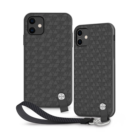 Altra Case with Detachable Wrist Strap for iPhone 11 - Shadow Black