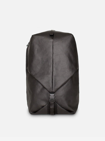 ORIL S COATED CANVAS BLACK
